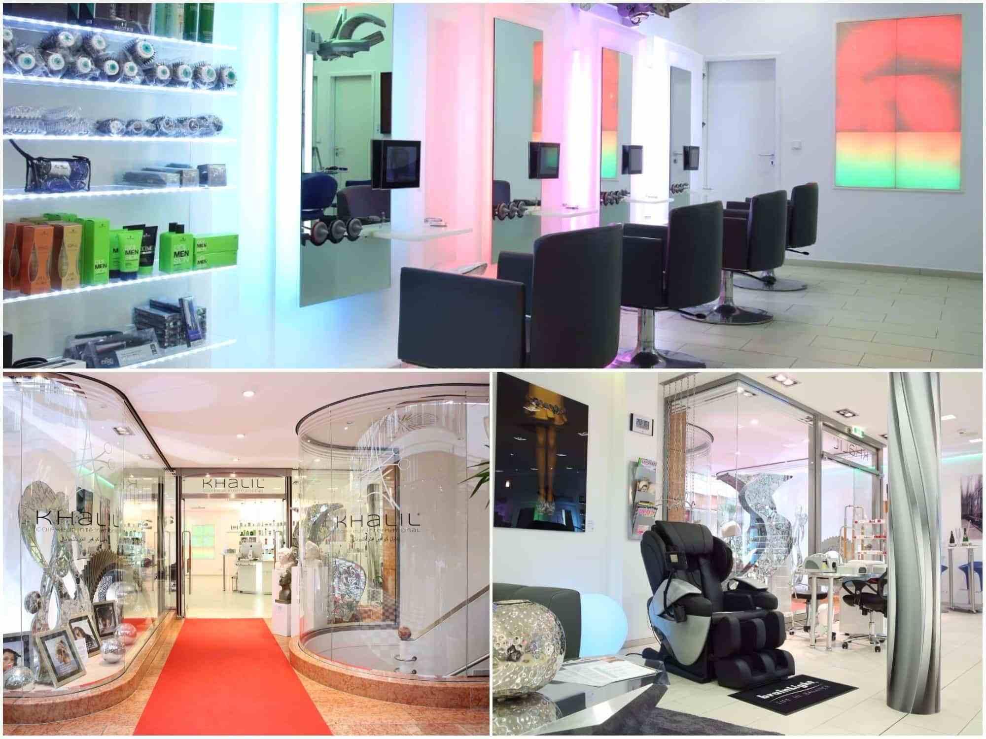 """Style Hannover Khalil Collage Innen 1 - Khalil Coiffeur International – mit """"Wow-Effekt"""""""