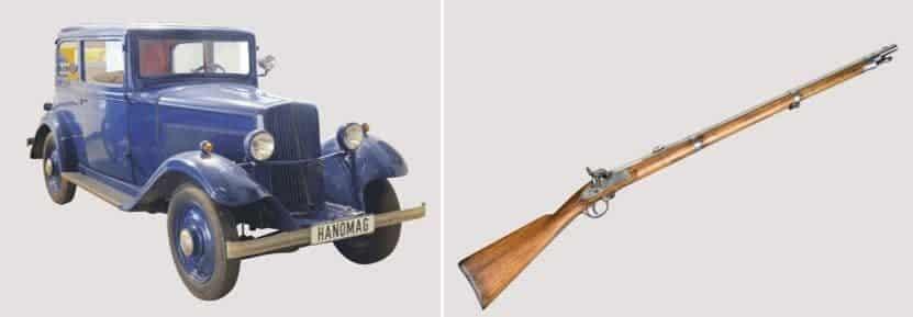 Style Hannover Patenschaft Freunde des historischen Museums Hanomag Garant Gewehr - Ein Stück Hannover zu haben!