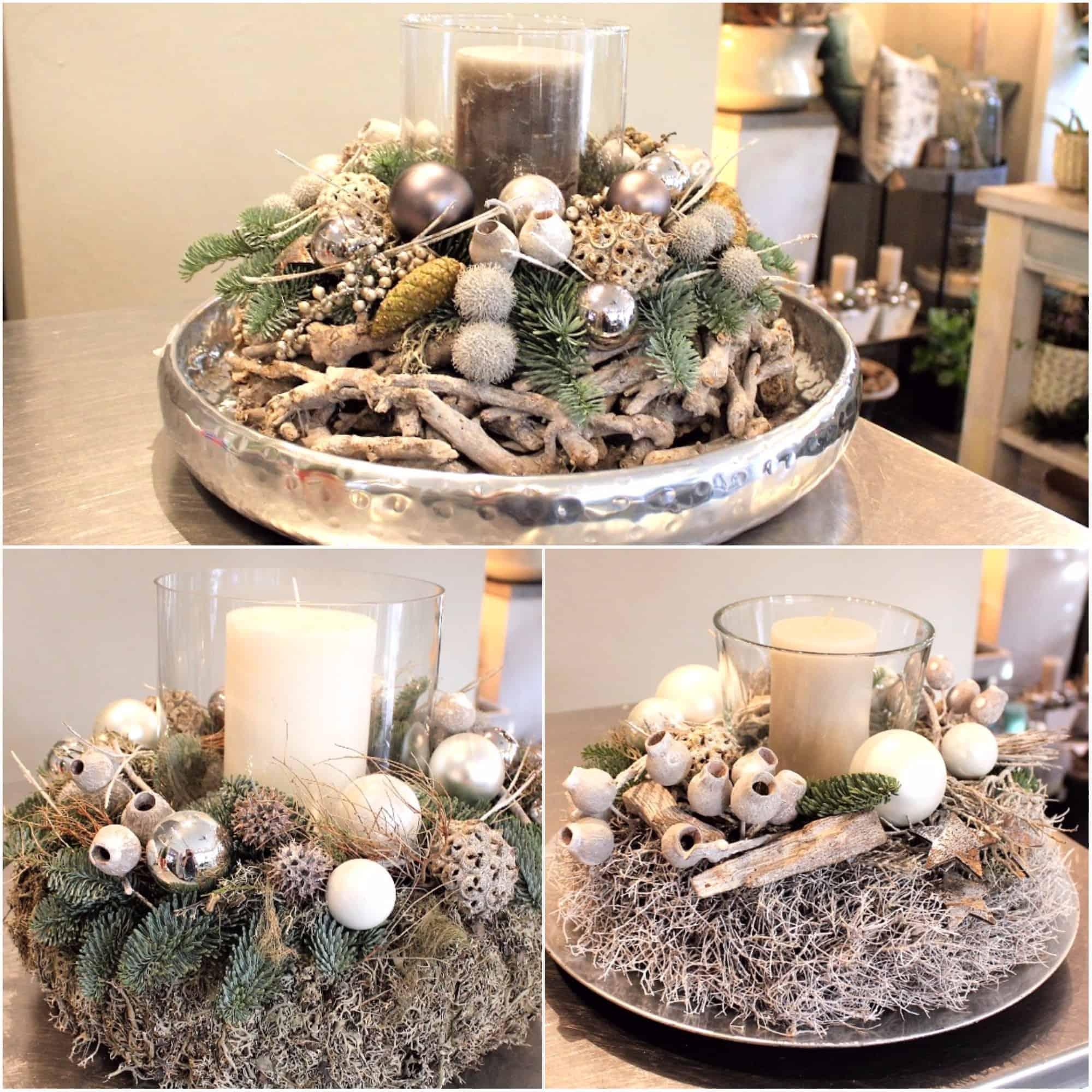 Es Weihnachtet Naturliche Tischdeko Style Hannover Blog