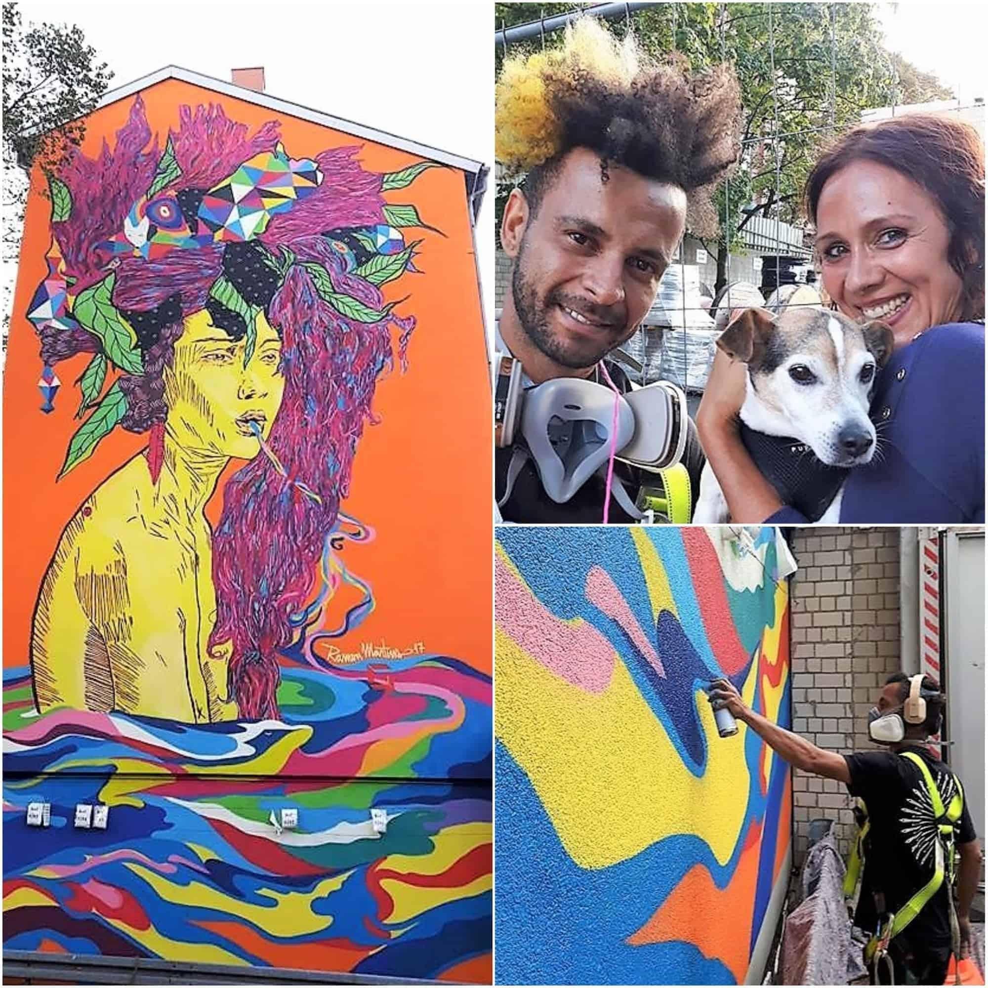 style hannover mansha friedrich streetart - Street-Art-Künstlerin Mansha Friedrich