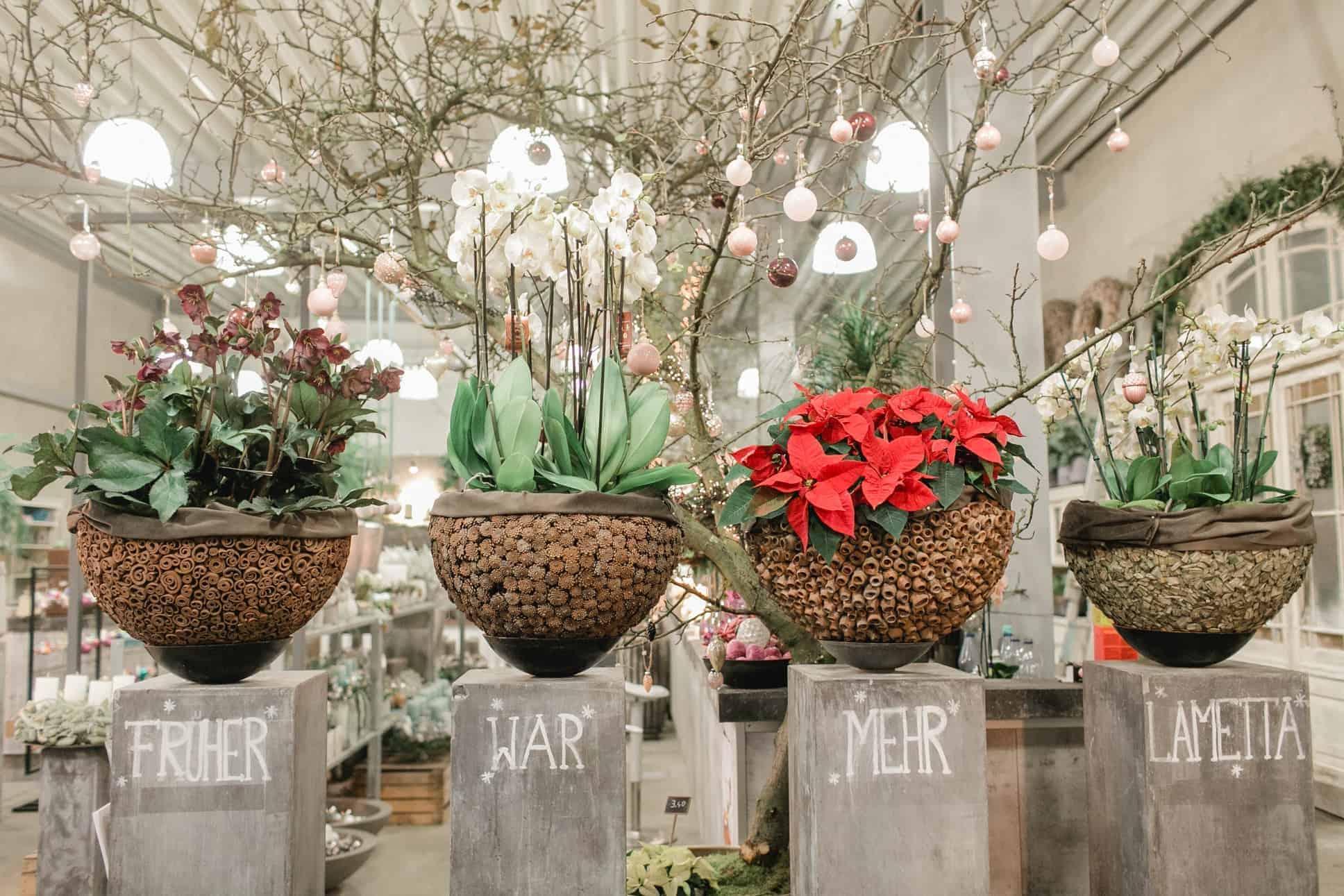 Style Hannover präsentiert die Adventsausstellung bei Mille Fleur