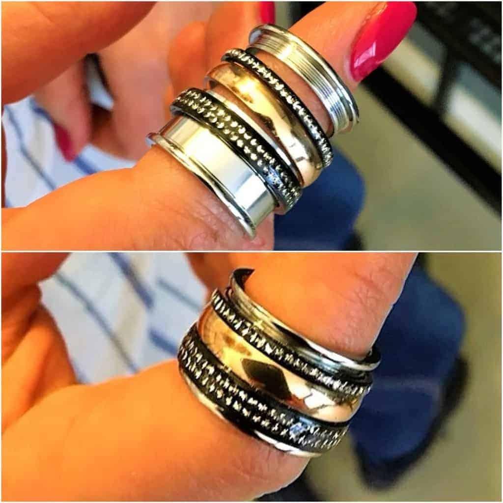 Style Hannover Ringe Collage VJU - Schmuckige Geschenkideen