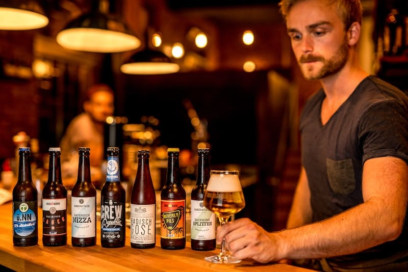Style Hannover Bierbrau Kurs Jos Food and Craft Craft Beer mit Glas - Braukurse bei Jo's Food & Craft - Mehr als Pils und Helles