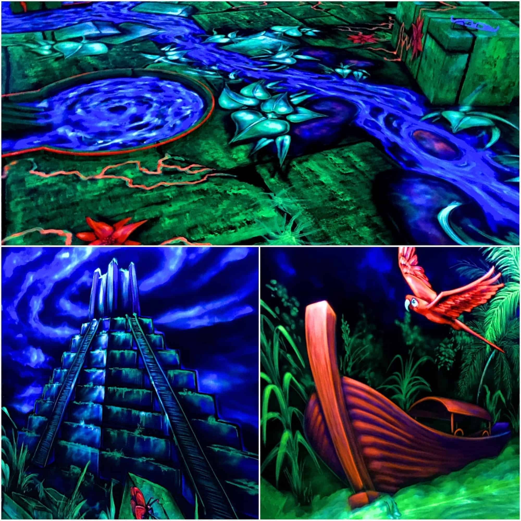 Style Hannover Neongolf Dschungel - NeonGolf = Minigolf 4.0