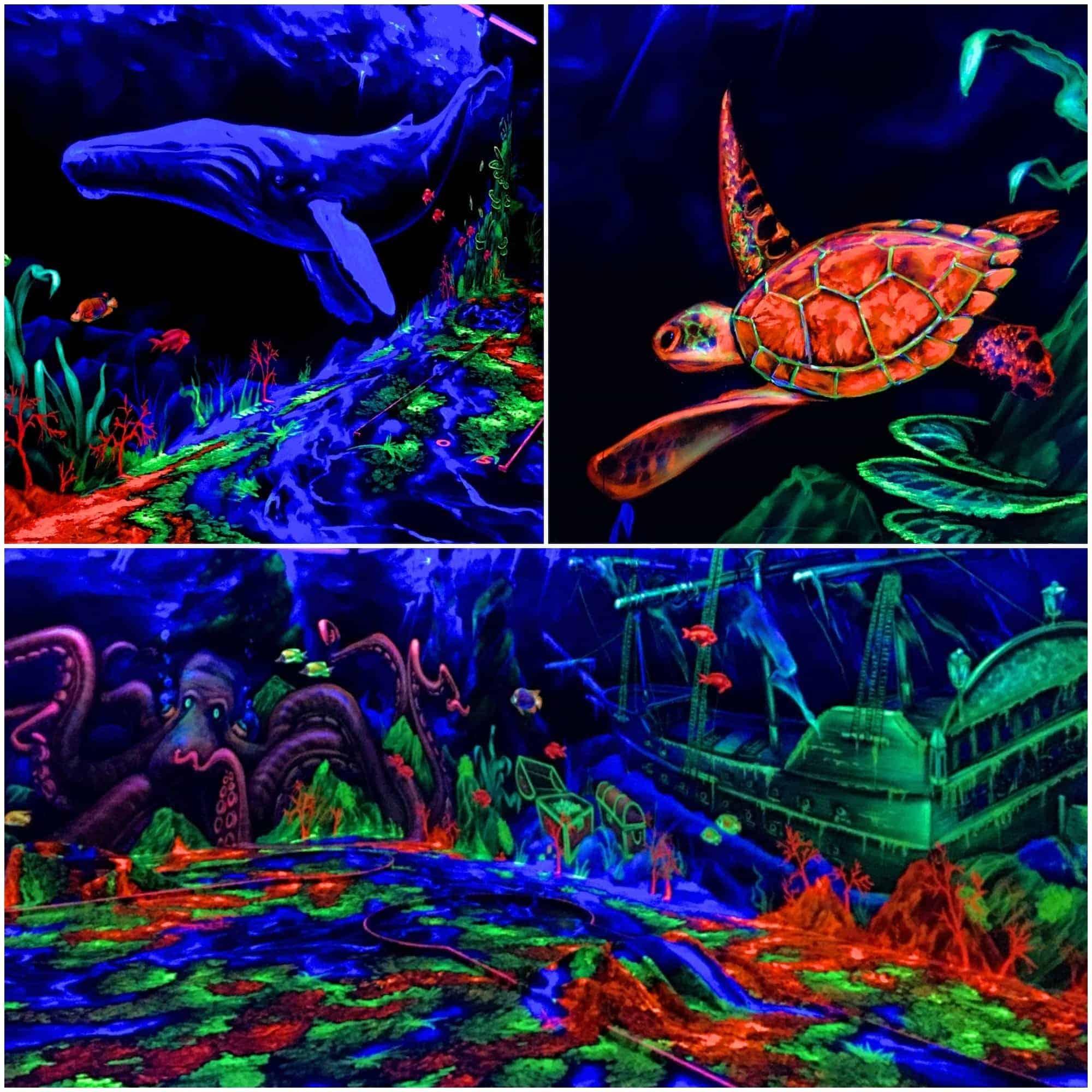 Style Hannover Neongolf Unterwasserwelt - NeonGolf = Minigolf 4.0
