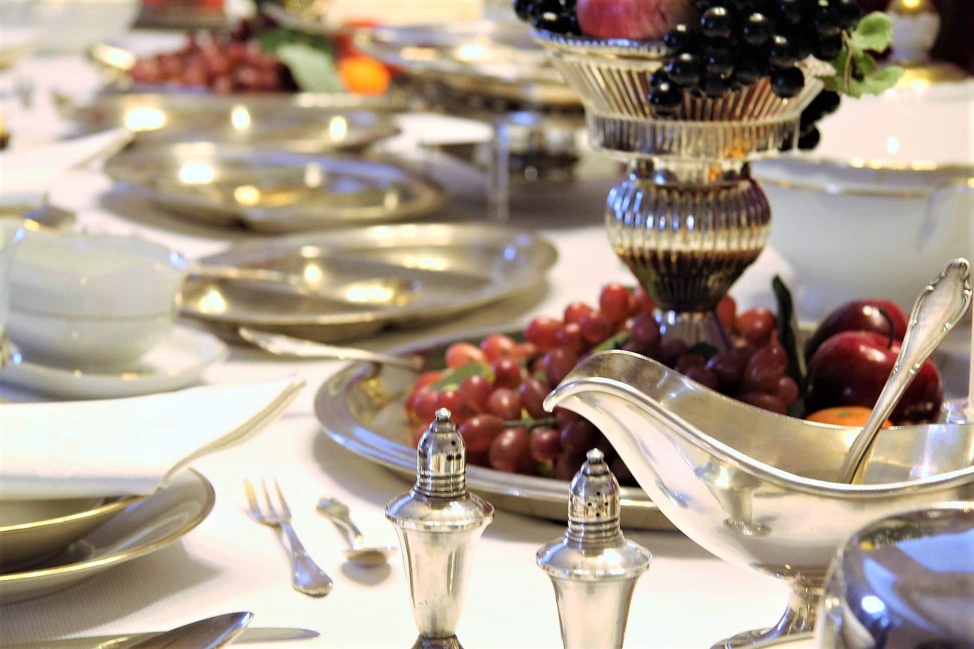 style hannover Tafelsilber im WOK Museum - Europas größtes Küchenmuseum