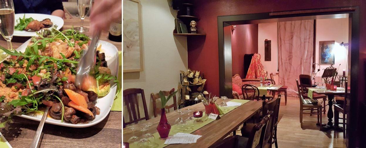Style Hannover Kanapee Collage Essen - Das Kanapee steht für Kultur pur