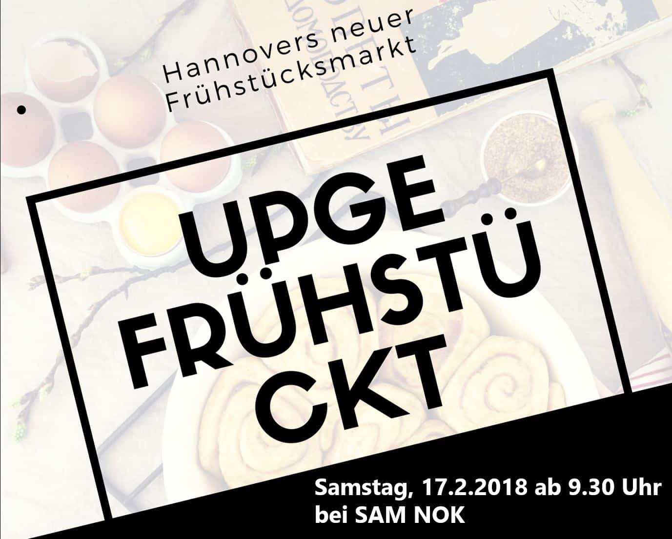 Style Hannover fremd.essen up gefrühstückt sam nok B - UPgefrühstückt - zum ersten Mal am 17.2.2018 ***vorbei***