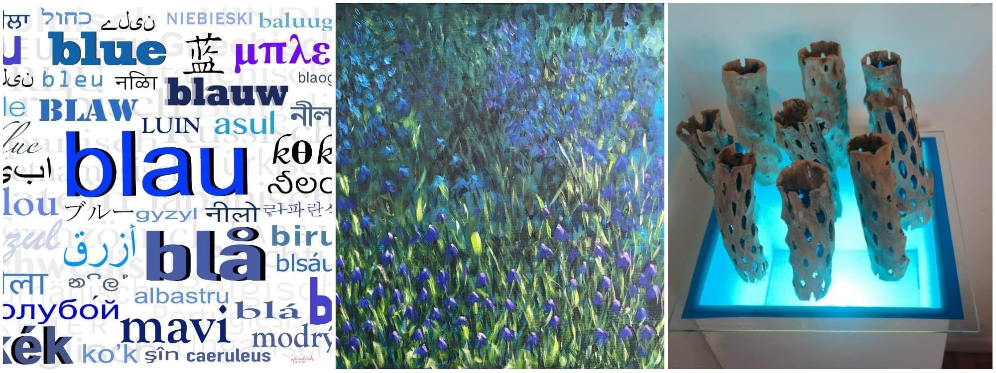 "Style Hannover Blaues Band Collage EF AK BE I - Ausstellung ""Das Blaue Band"" | BBK"