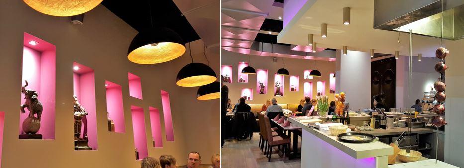 Style Hannover Mangals Kitchen Restaurant - Thali Lunch in Mangal's Kitchen
