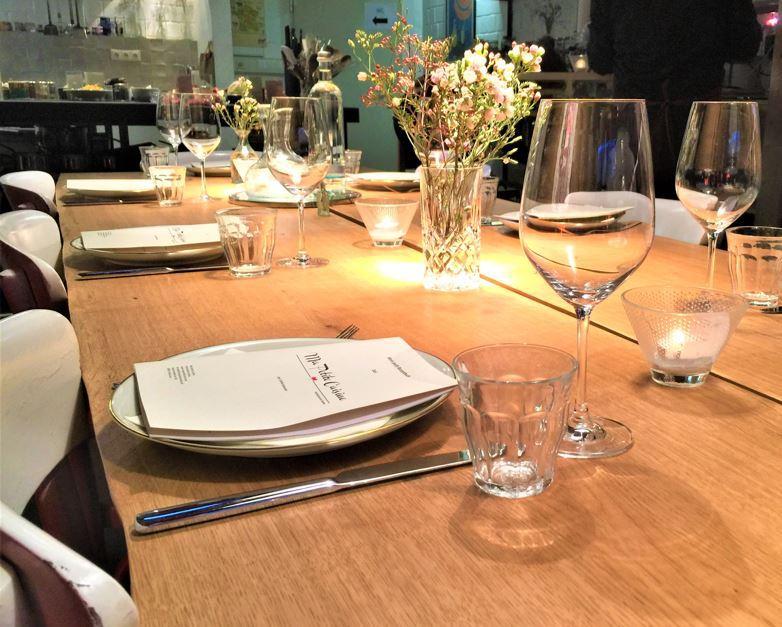 Style Hannover Ma petite Cuisine Tisch B - Kochkurs bei Ma Petite Cuisine