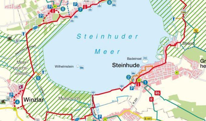 Style Hannover stellt den Radrundweg Steinhuder Meer vor.