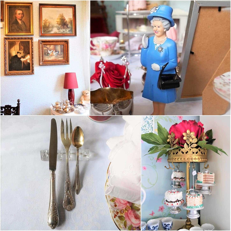 style hannover sahnestücke cafe Collage 2 - Teatime mit der Queen im SAHNESTÜCK