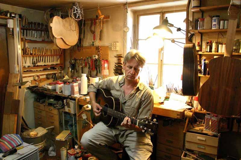 """Stle Hannover Portrait Heinz Rebellius @Martin Huch - """"Heinz und die Gitarren"""" oder """"Wie Cliff Barnes nach Hannover kam"""""""