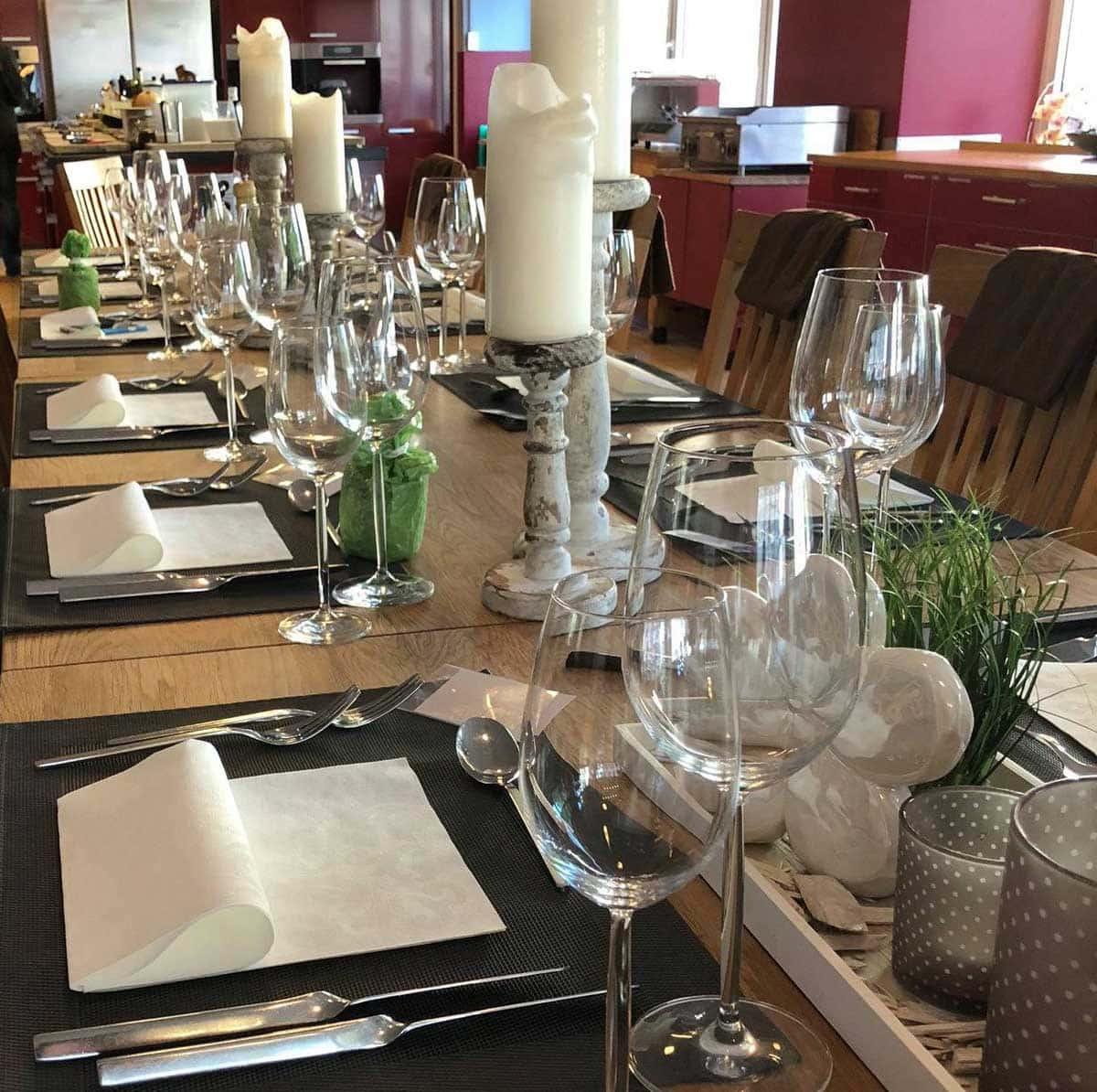 Style Hannover Genusswerkstatt Tisch - Indisch kochen in der GenussWerkstatt