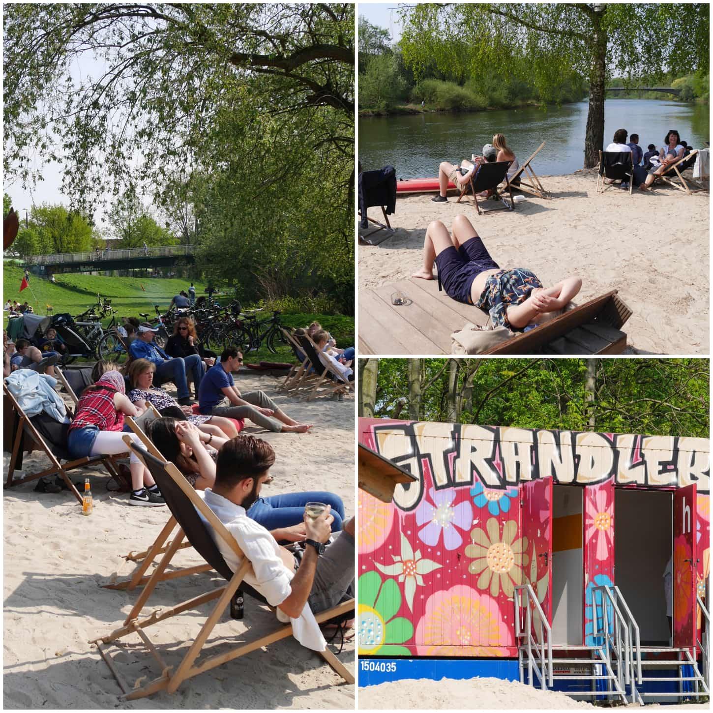 Style Hannover Strandleben Collage KBW 1 - Strandleben - für den kleinen Urlaub zwischendurch