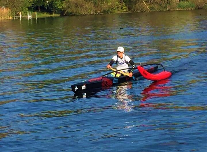 Style Hannover SUP Schule Hannover Kurs Outriggerpaddeln - Auf die Boards und los geht's - SUP-Kurs