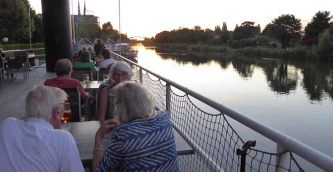 Style Hannover Schifftaurant Collage Essen KBW FB - Das Schifftaurant am Kanal