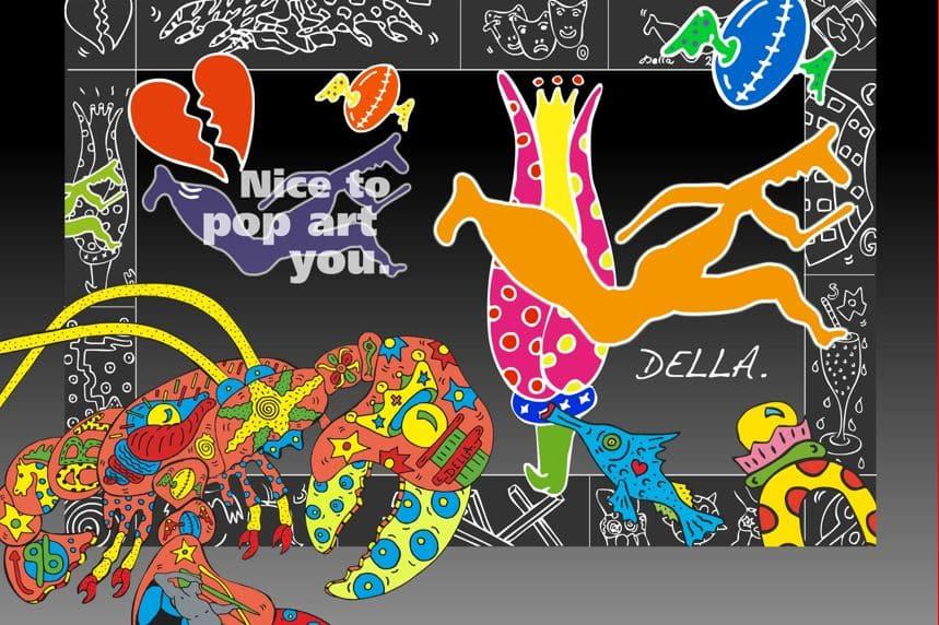 """Style Hannover Collage Della 01 - DELLA: """"Nice to pop-art you"""""""