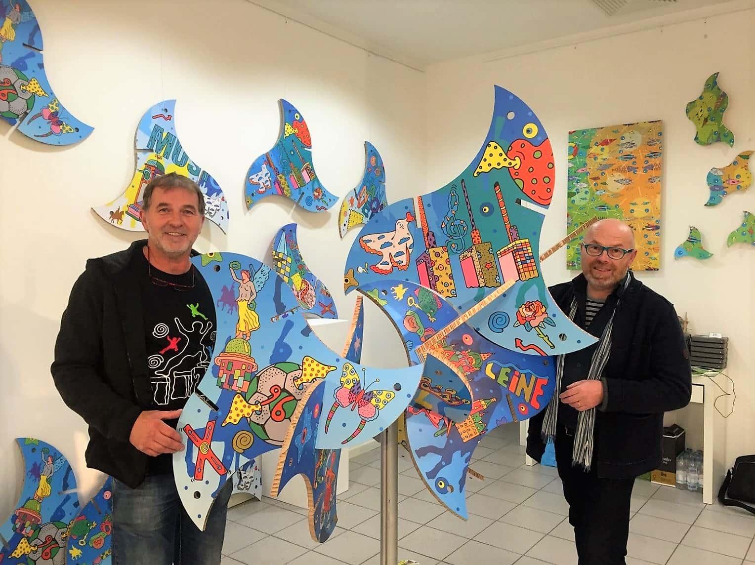 """style hannover della künstler stadtskulpturen Fio Franz Betz - DELLA: """"Nice to pop-art you"""""""