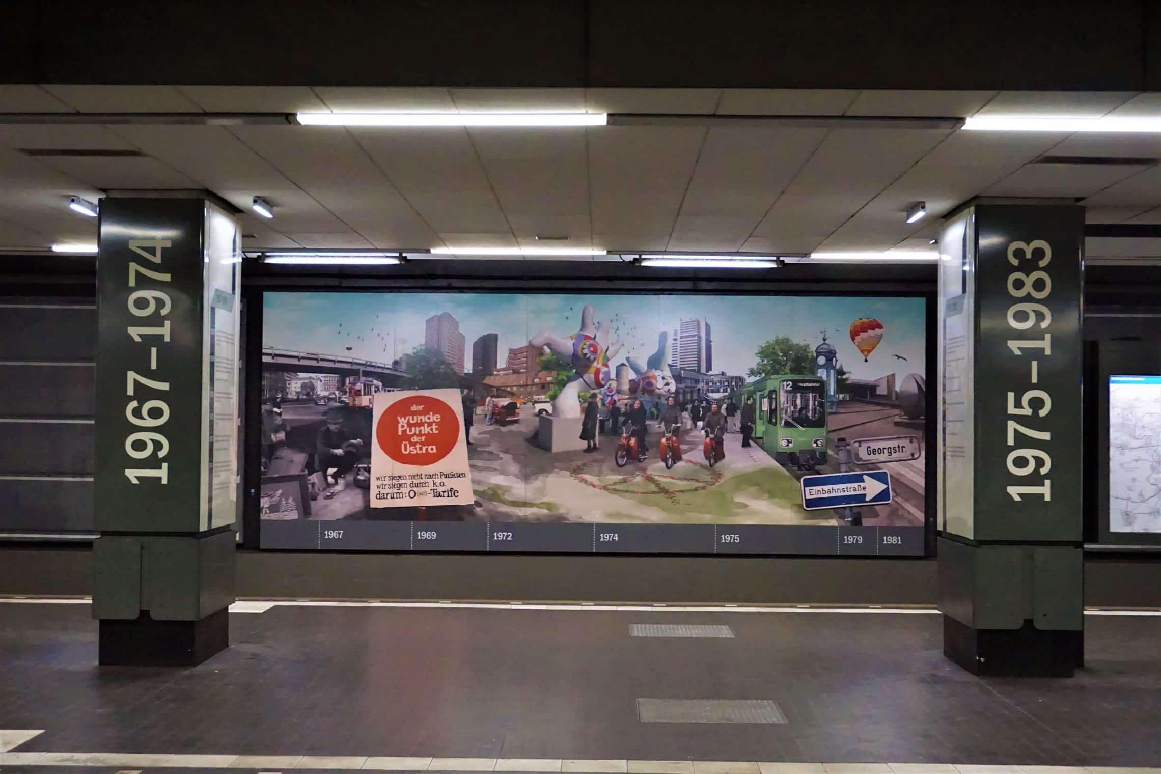 style hannover waterloo station 1 - Ausgezeichnet: Die U-Bahn-Station Waterloo