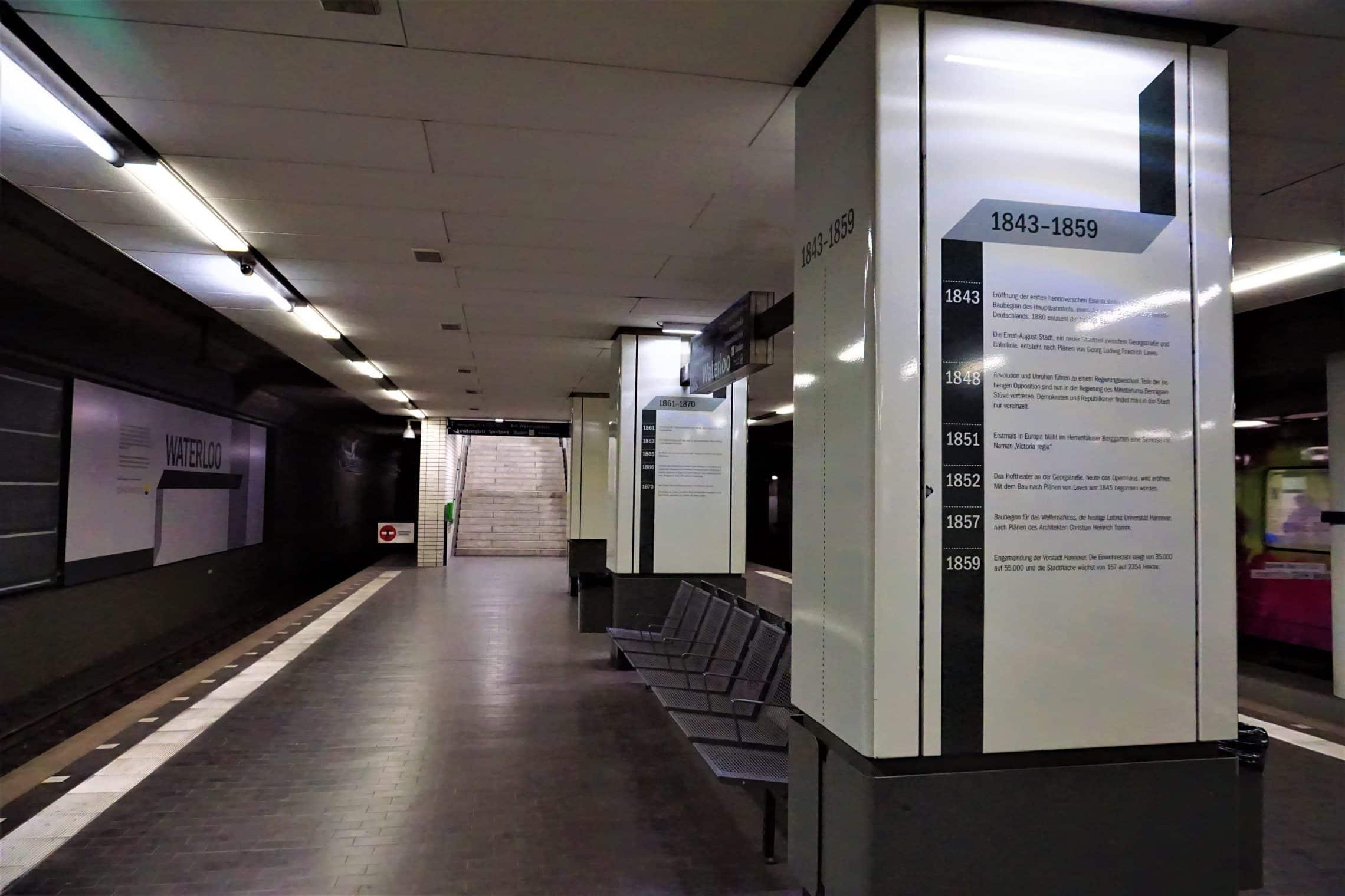 style hannover waterloo station 2 - Ausgezeichnet: Die U-Bahn-Station Waterloo