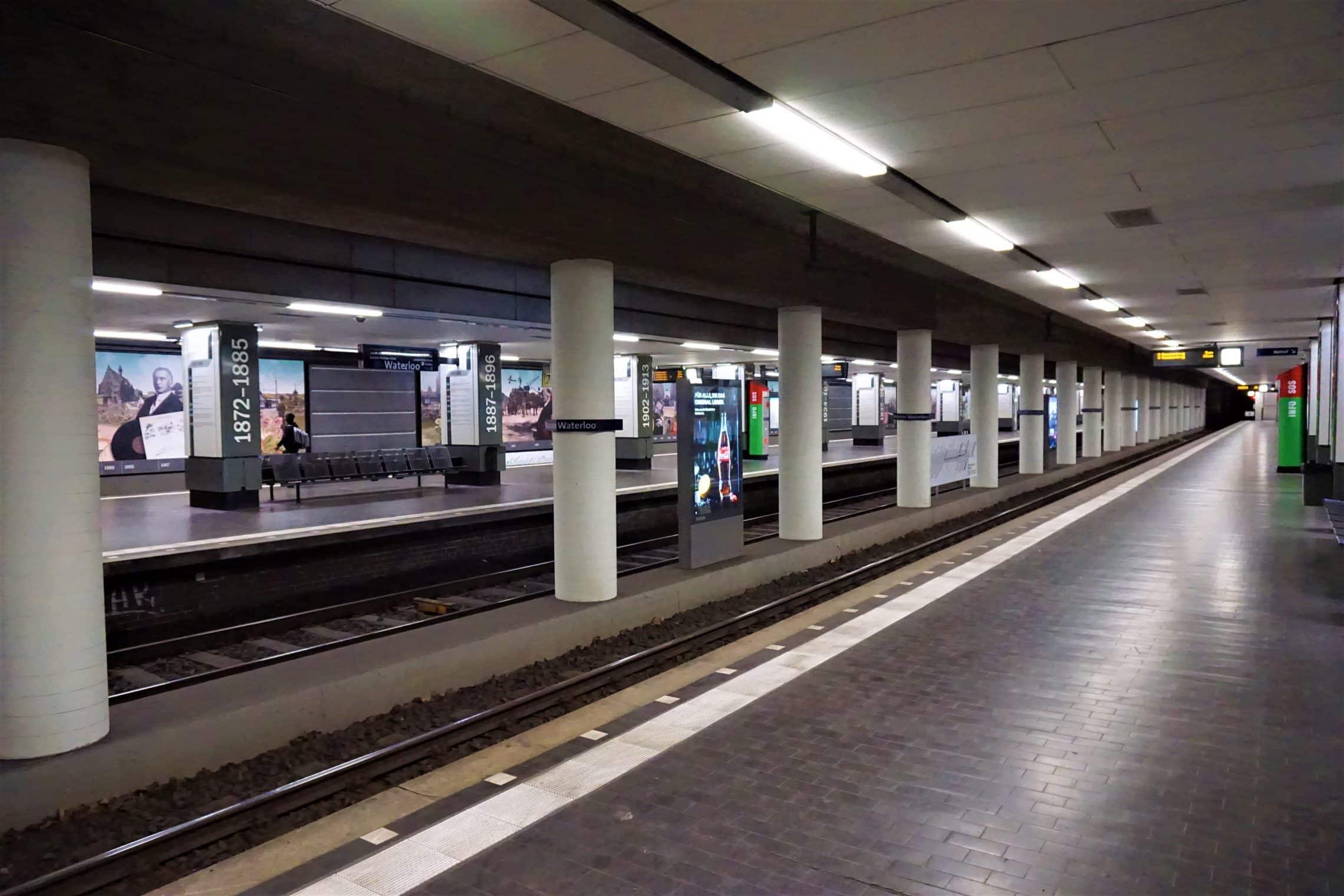 style hannover waterloo station B - Ausgezeichnet: Die U-Bahn-Station Waterloo