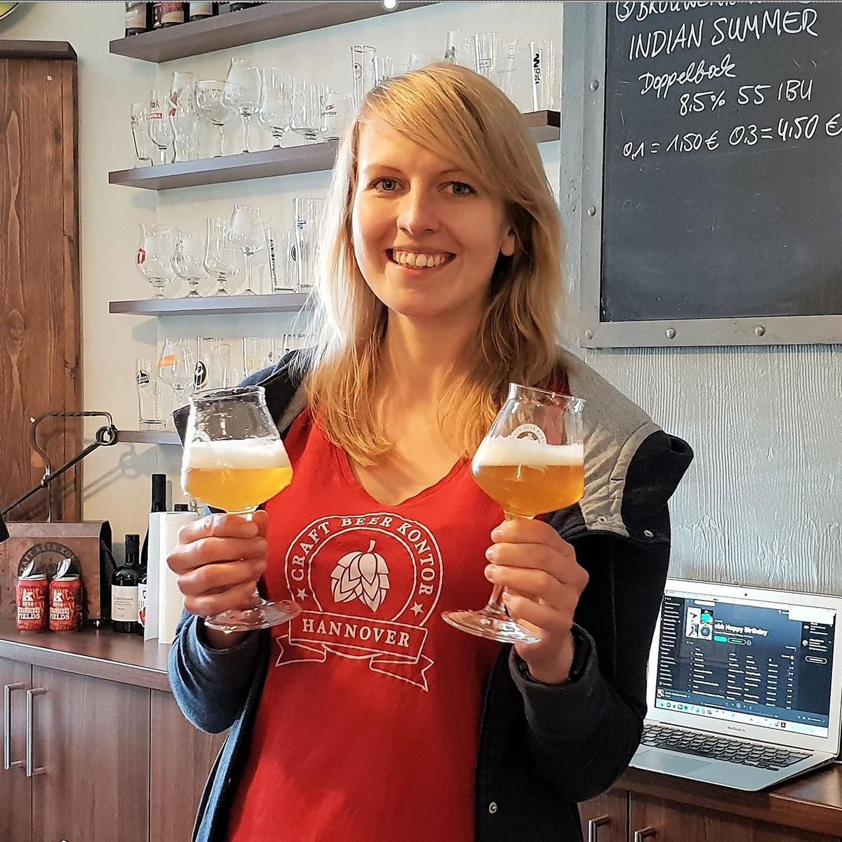 """Style Hannover Craft Beer Kontor Janina INSTA - Craft Beer Kontor für """"Hahndrang"""""""