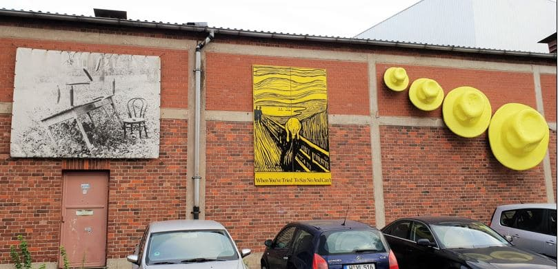 Style Hannover Collage Stadbekannt Kunst - Stadtbekannt und Co - mit dem Oldtimer unterwegs