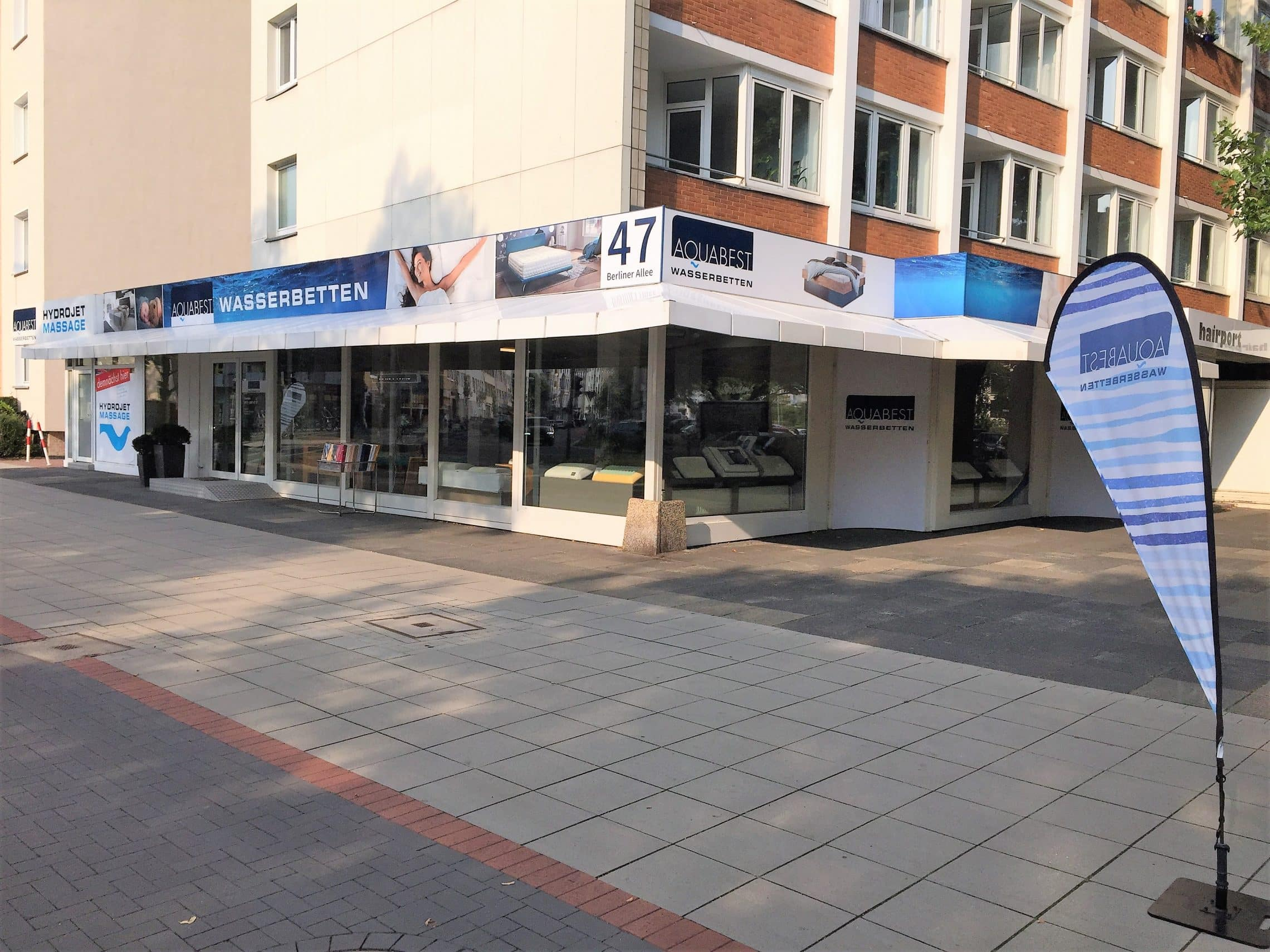 Style Hannover Aquabest Wasserbetten Store außen - AQUABEST Wasserbetten – von der Wüste ins Schlafzimmer ...