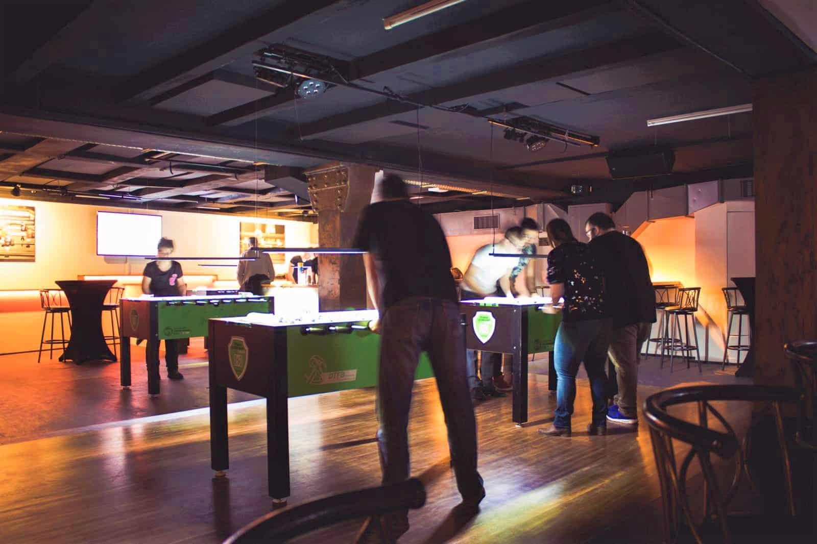 style hannover krökelbar B - KrökelBar – Tischfußball mitten in der City