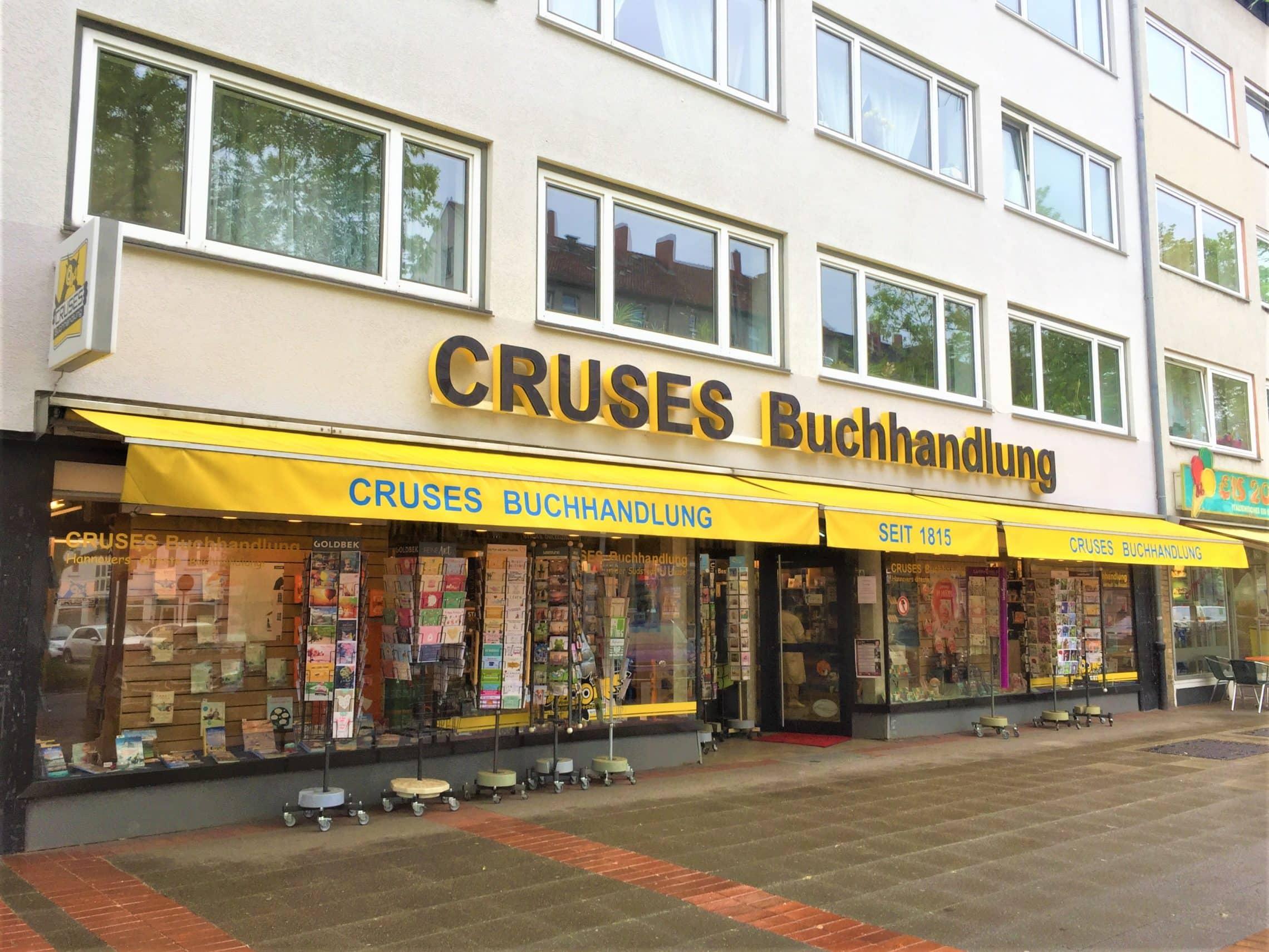 Style Hannover Cruses Buchhandlung Außen - CRUSES Buchhandlung