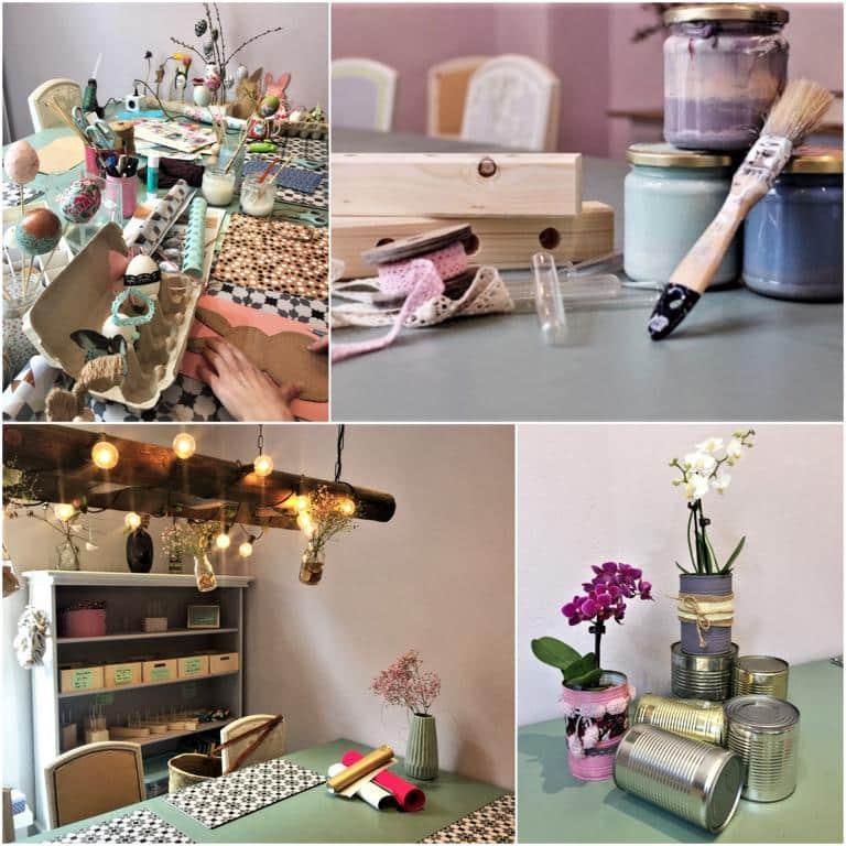 style hannover bastelzimmer collage - Das Bastelzimmer: Kreatives für die Großen