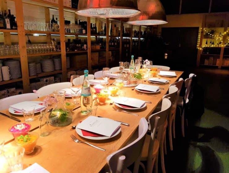 Style Hannover minzblatt Tisch B 740x560 - minzblatt – Eventlocation, Caterer & Kochschule