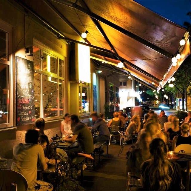 style hannover goldfisch Außen - Goldfisch - Café & Bar