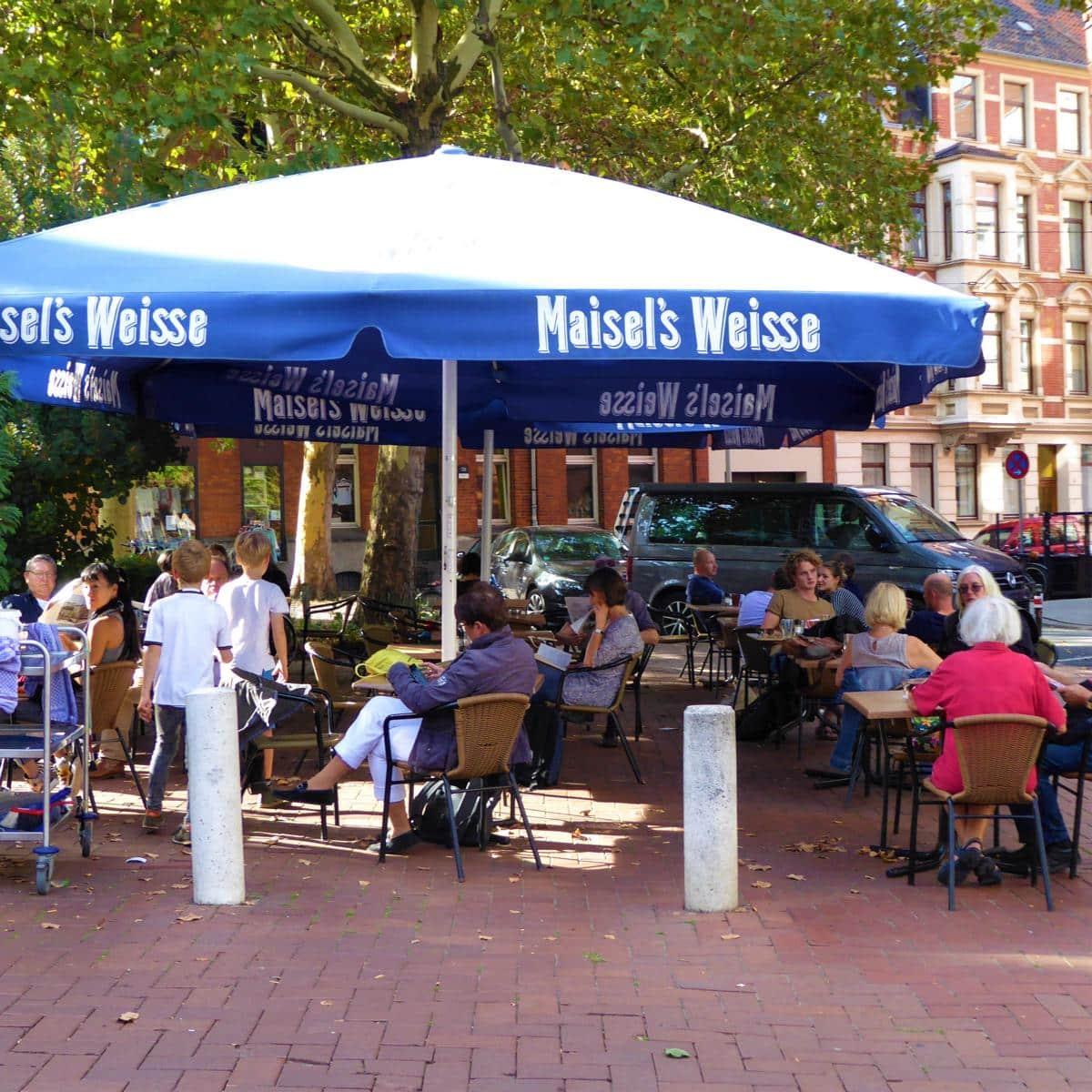 Style Hannover Café K Außen - Café K – Kultstätte im Herzen von Linden