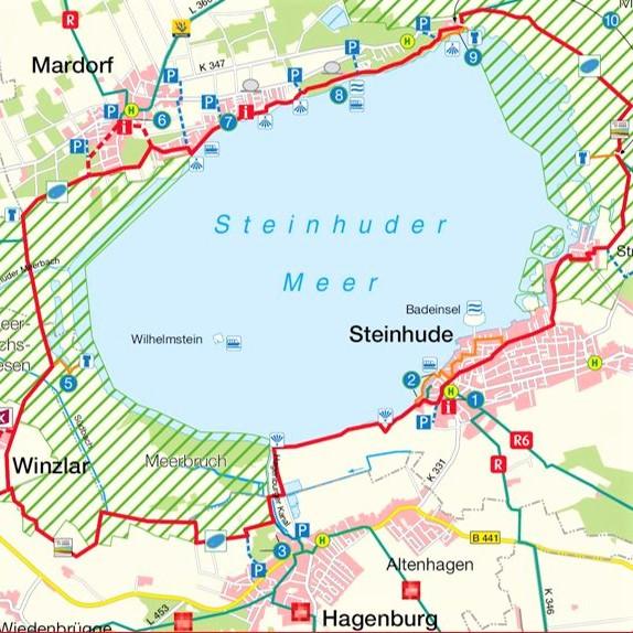 Style Hannover Radkarte Steinhuder Meer B Insta - Die schönsten Freizeit-Aktivitäten zum Frühling