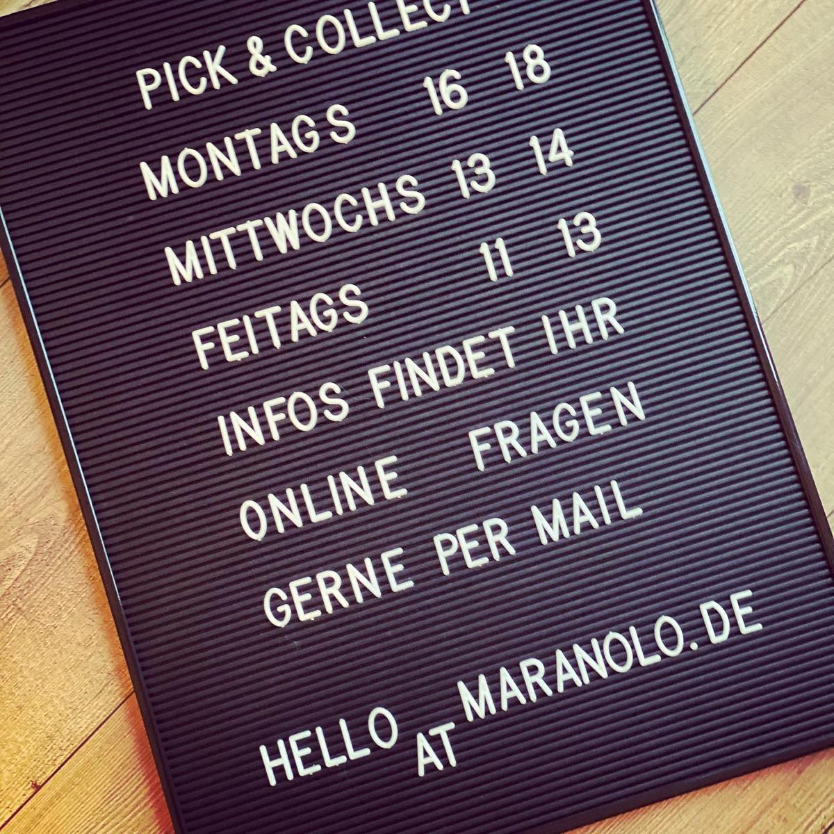 Style hannover maranolo Support your locals - maranolo - Lieferangebot + Click & Collect