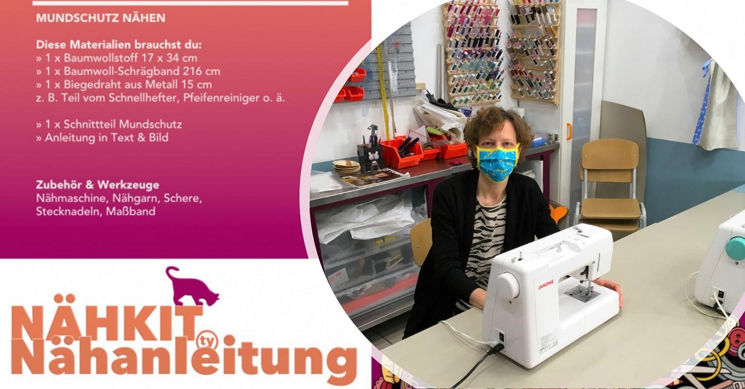 style hannover katrin kurzwarenkatze mundschutz kampagne 2 - Kurzwarenkatze - Kampagne: Mundschutz auf, Hannover