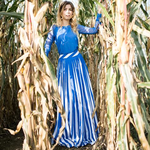 Style Hannover Blog Sasse DesignKleidBlau - Sasse-Design: Kleider für die Oscar-Verleihung & mehr
