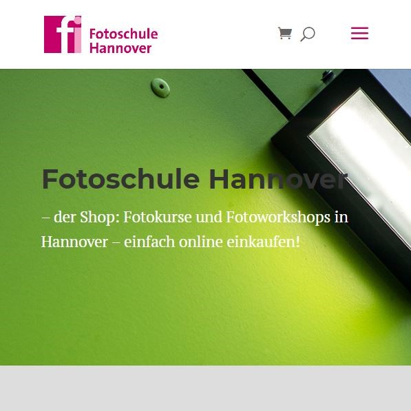 Style Hannover Fotoschule Hannover Online Shop - Fotoschule Hannover - ONLINE Shop