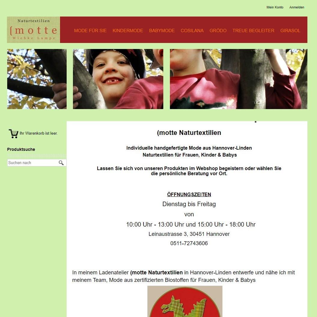 Style Hannover Motte Naturtextilien Online Shop - (motte Naturtextilien - ONLINE Shop