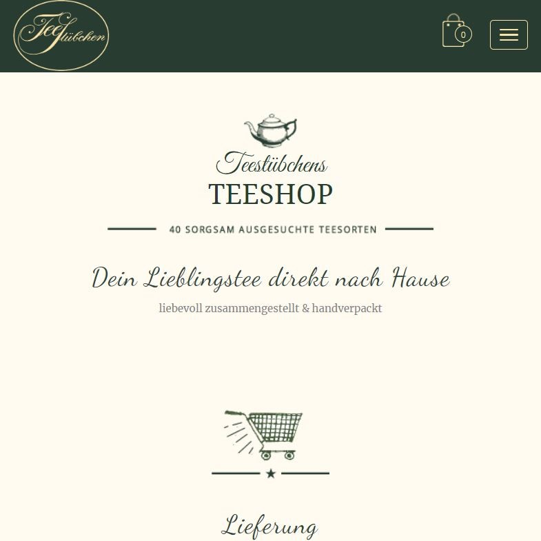 Style Hannover Teestübchen Online Shop - Support your locals