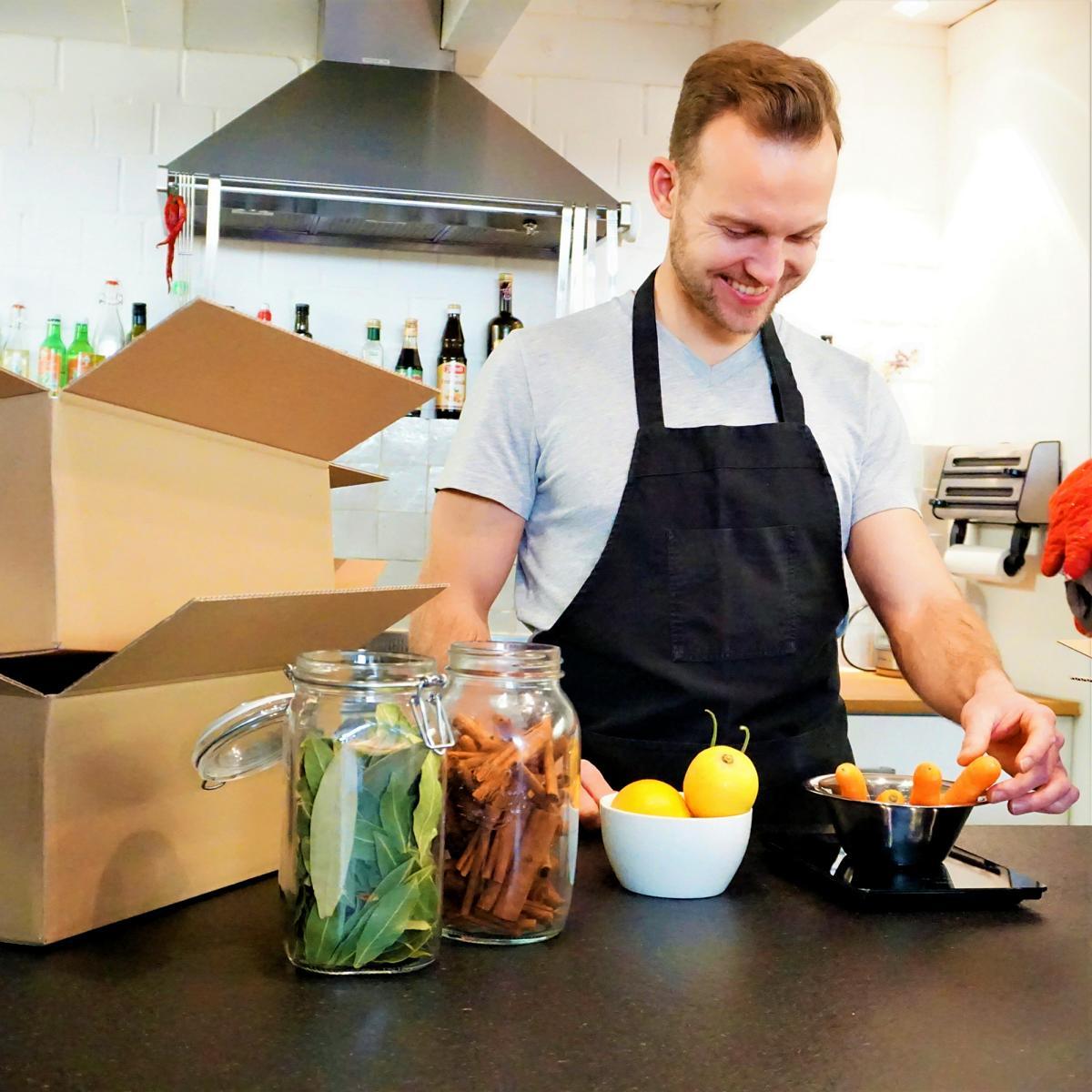 Style Hannover minzblatt Kochbox B - minzblatt - Kochboxen für zu Hause