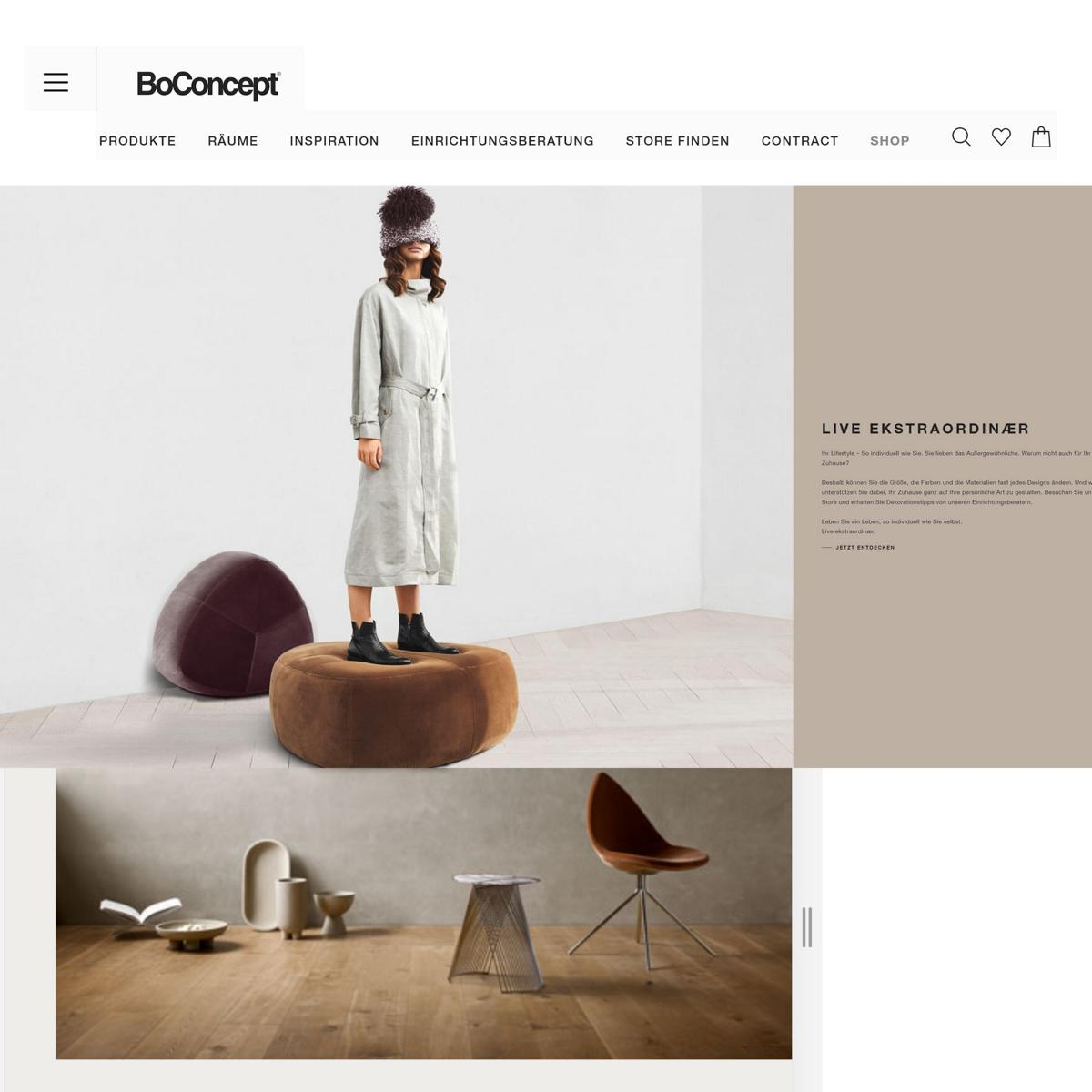 style hannover boconcept hannover ONline shop B - Support your locals