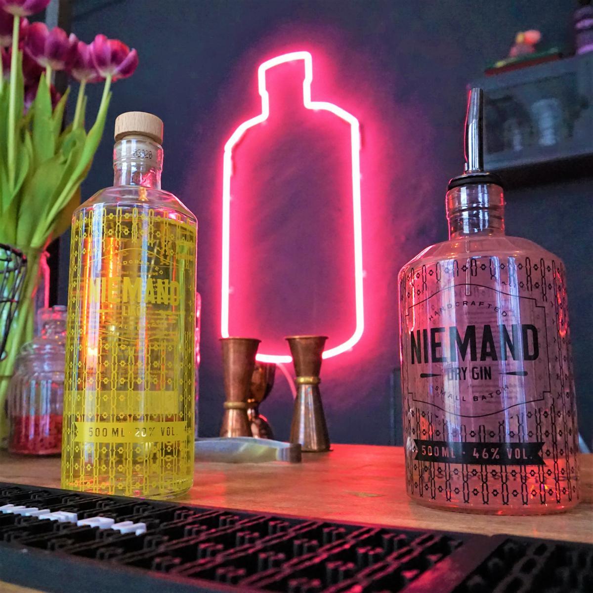 Style Hannover Niemand Gin 2 - NIEMAND - Spirituosen mit Stil aus Hannover
