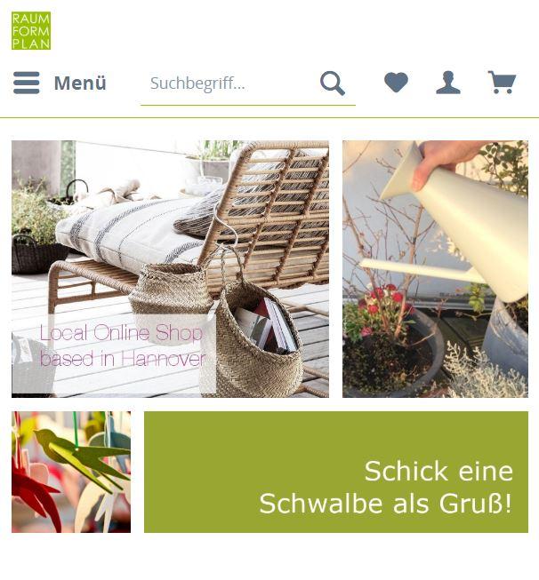 Style Hannover RaumFormPlan Online Shop B - RaumFormPlan - ONLINE Shop