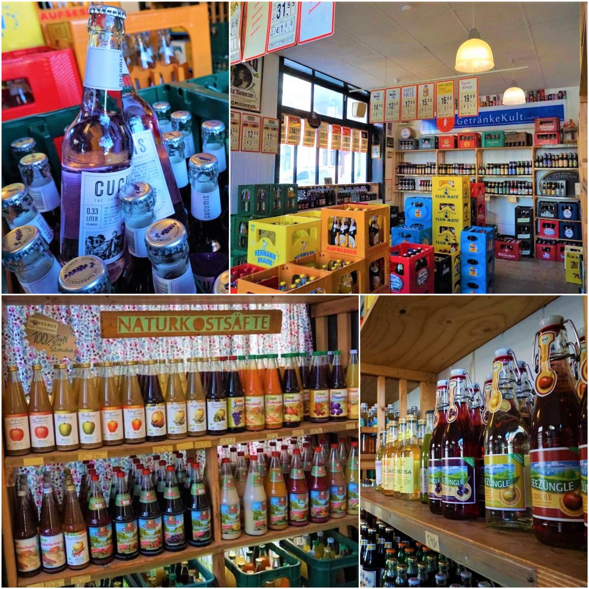 Style Hannover GetraenkeKult Collage - GetränkeKult Linden: Flaschenstau vom Feinsten