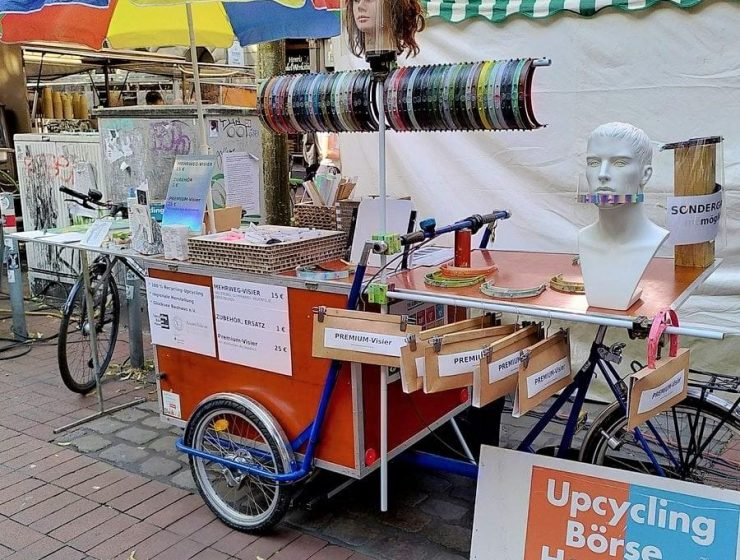Style Hannover Upcyclingboerse Gesichtsvisiere 740x560 - Upcyclingbörse - Kultur in Sicht