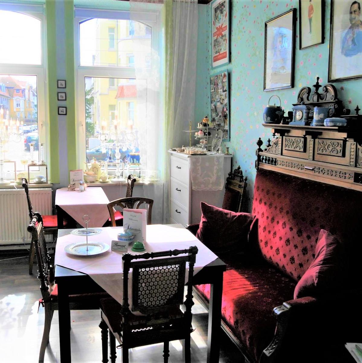 Style Hannover Sahnestueck 1 - Teatime mit der Queen im SAHNESTÜCK